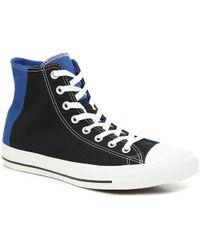 a1bdde0b1a3d Lyst - Converse Chuck Taylor All Star X Nike Flyknit High Top Shoe ...