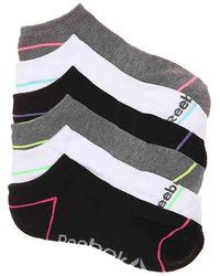Reebok - Low Cut No Show Socks - Lyst