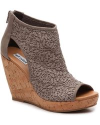 Not Rated - Tonka Wedge Sandal - Lyst