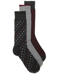 Cole Haan - Dot Dress Socks - Lyst
