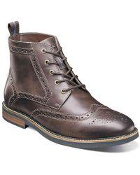 Nunn Bush - Odell Wingtip Boot - Lyst