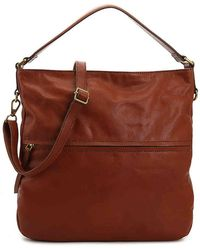 Lyst - Fossil Corey Large Cross-body Bag in Black e8d5235678