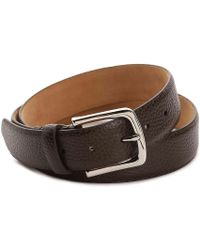 Cole Haan - Pebble Leather Belt - Lyst