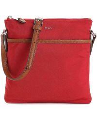Lauren by Ralph Lauren - Stockwell Flat Crossbody Bag - Lyst