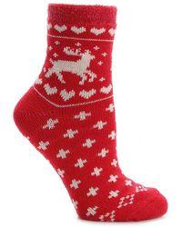 Sof Sole - Nordic Deer Slipper Socks - Lyst