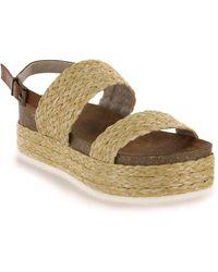 MIA - Ava Platform Sandal - Lyst