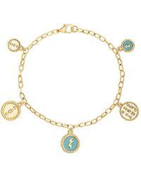 Steve Madden - Rolo Charm Bracelet - Lyst