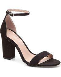 228daa30e24a Lyst - Office Premium Bella Block Heel Sandals in Gray