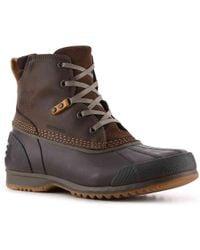 Sorel Ankeny Lace Moc Toe Hiking Boot(Men's) -Black Suede Outlet Best Sale Supply Sale Online ZMhSohlOZ