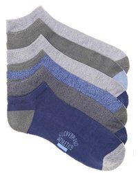 Lucky Brand - Half Cushion No Show Socks - Lyst