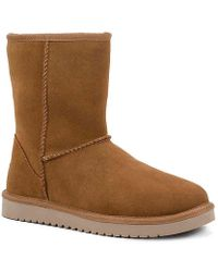 06b1766d732 Lyst - Ugg Classic Cuff Short Boot in Brown