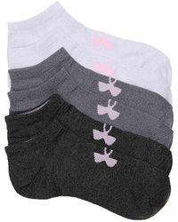 Under Armour - Essential No Show Socks - Lyst