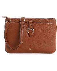 Lauren by Ralph Lauren - Anfield Ii Crossbody Bag - Lyst 31c3387446633