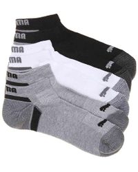 PUMA - Cushioned Ankle Socks - Lyst