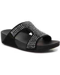 Fitflop - Glitzie Wedge Sandal - Lyst