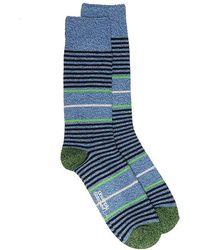 Unsimply Stitched - Wedding Stripe Boot Socks - Lyst