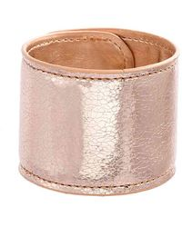 Steve Madden - Textured Slap Bracelet - Lyst