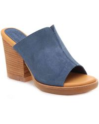 cdb3ee9168b2 Lyst - Kork-Ease Keirn Wedge Sandals in Black