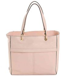 1e2d544310cf Lyst - Cole Haan Kathlyn Leather Work Tote in Natural
