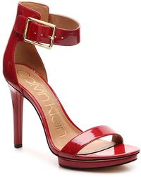 Calvin Klein - Vivian Platform Sandal - Lyst