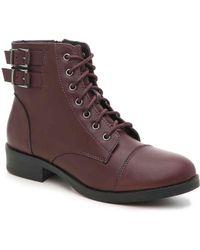 Madden Girl - Flint Combat Boot - Lyst