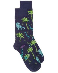 Sock It To Me - Land Of The Dinos Crew Socks - Lyst
