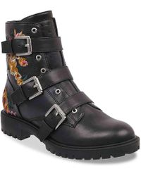 G by Guess - Prezident Combat Boot - Lyst