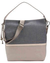 Fossil - Maya Leather Hobo Bag - Lyst