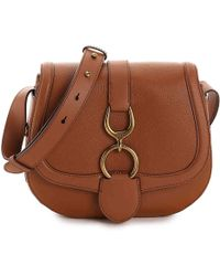 Lauren by Ralph Lauren - Barrington Leather Crossbody Bag - Lyst