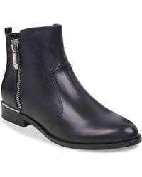 a97f86ded9f4b Lyst - Sam Edelman Sondra Block Heel Lace-up Boot in Black