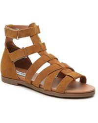 2038f94df74 Lyst - Steve Madden Madylynn Platform Sandals in Natural