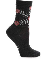 Woolrich - Snowflake Boot Socks - Lyst
