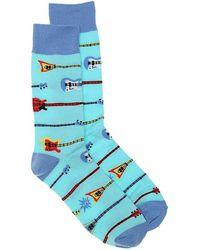 Sock It To Me - Strumming On Empty Dress Socks - Lyst