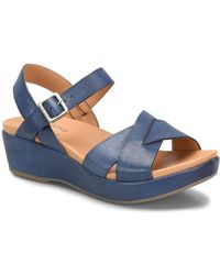 4f1065c2b660 Lyst - Kork-Ease  Keirn  Platform Wedge Sandal in Gray