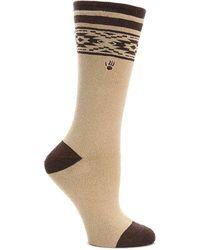 BEARPAW - Geometric Boot Socks - Lyst