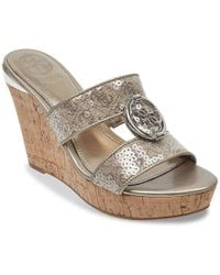 Guess - Beanca Wedge Sandal - Lyst