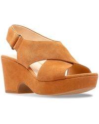 Clarks - Marista Lara Platform Sandal - Lyst