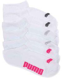 PUMA - Cool Cell No Show Socks - Lyst
