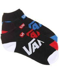Vans - Solid No Show Socks - Lyst