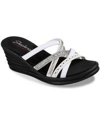 Skechers - New Lassie Wedge Sandal - Lyst