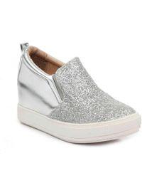 Wanted - Luminous Wedge Slip-on Sneaker - Lyst