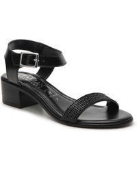 Italian Shoemakers - Rhinestone Sandal - Lyst