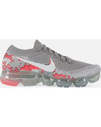 Lyst - Nike Wmns Air Vapormax Flyknit in White 3e58aa0ca