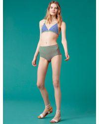 Diane von Furstenberg - Triangle Bikini Top - Lyst