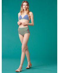 Diane von Furstenberg - True High-waisted Bikini Bottom - Lyst