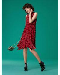 6cbec6beac4 Diane von Furstenberg Dvf Jayme Cut Out Embellished Dress in Black - Lyst