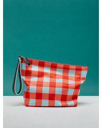 Diane von Furstenberg - Printed Origami Wristlet - Lyst