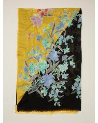 Diane von Furstenberg - Floating Bouquet Scarf - Lyst