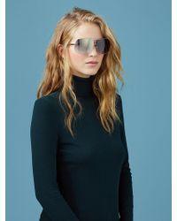 1905fc1541 Diane von Furstenberg - Lisa D-frame Sunglasses - Lyst