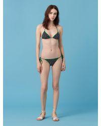 Diane von Furstenberg - String Bikini Top - Lyst